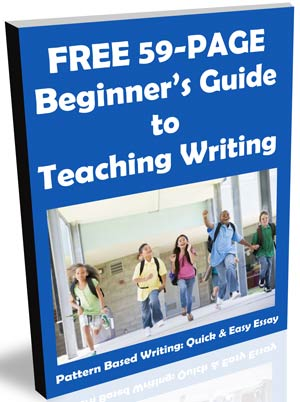 elementary writing samples middle school writing examples sample   ebook how to teach writing
