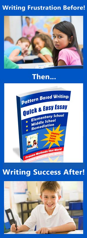 pattern based writing quick and easy essay Writing a good essay about cause and effect is easier than it might seem it follows a pattern that is very logical you can now write your actual essay based on.