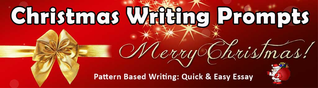 Christmas Essay & Story Writing Prompts for Kids