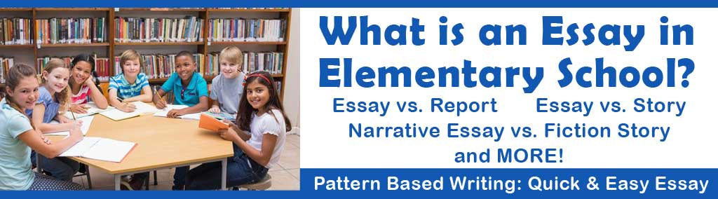 What is an Essay in Elementary School?