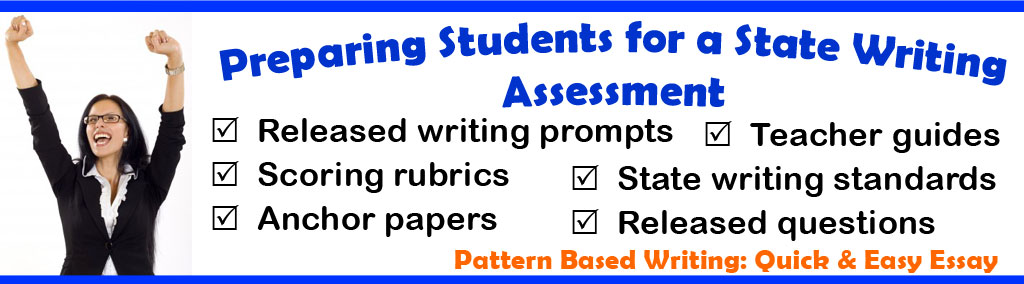 State Writing Assessment Tools and Resources